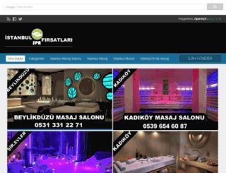 masajsalonubul.com screenshot