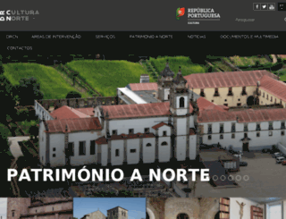 masampaio.culturanorte.pt screenshot