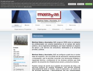masayas1.jimdo.com screenshot