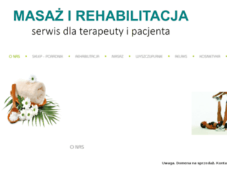 masaze-kielce.com.pl screenshot