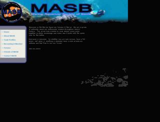 masb.ca screenshot
