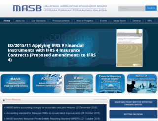 masb.org.my screenshot