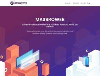masbroweb.com screenshot