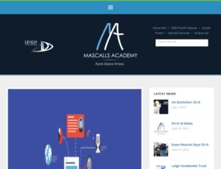mascalls.kent.sch.uk screenshot