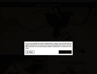 mascaro.com screenshot