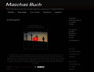 maschas-buch.blogspot.de screenshot
