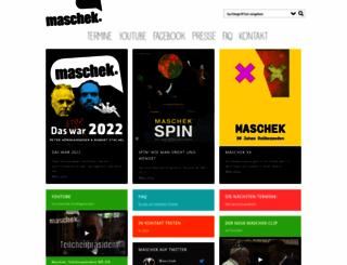 maschek.org screenshot