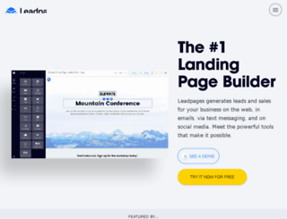 mascligroup.leadpages.co screenshot