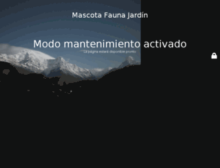 mascotafaunajardin.com screenshot