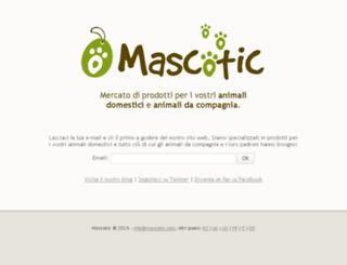 mascotic.it screenshot