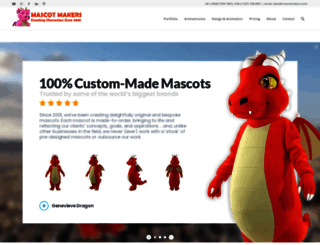mascotmakers.com screenshot