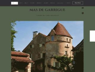 masdegarrigue.com screenshot