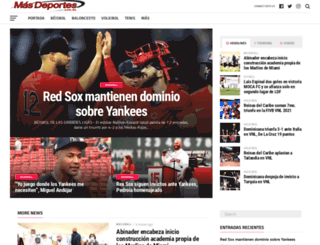 masdeportes.com.do screenshot