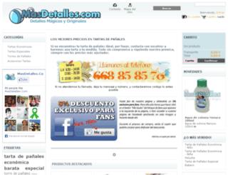masdetalles.com screenshot