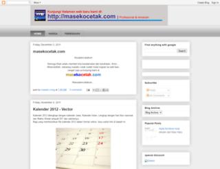 masekocetak.blogspot.com screenshot