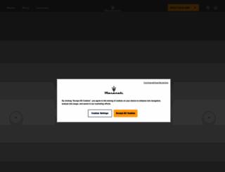 maserati.com.au screenshot