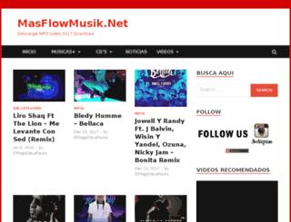 masflowmusik.net screenshot