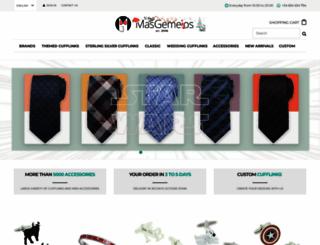 masgemelos.com screenshot
