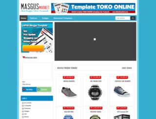 masgusmarket.blogspot.com screenshot