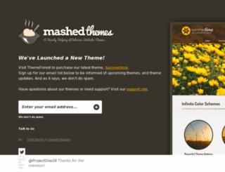 mashedthemes.com screenshot
