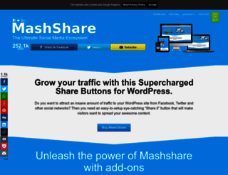 mashshare.net screenshot