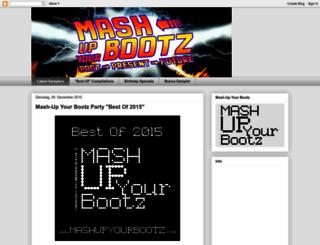 mashupyourbootz.blogspot.com screenshot