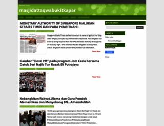 masjidattaqwabukitkapar.blogspot.com screenshot