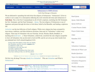 masjidtucson.org screenshot