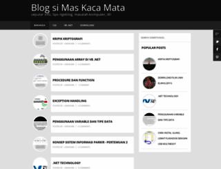maskacamata.blogspot.com screenshot