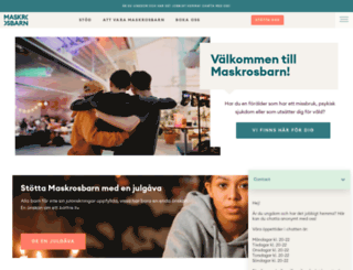 maskrosbarn.org screenshot