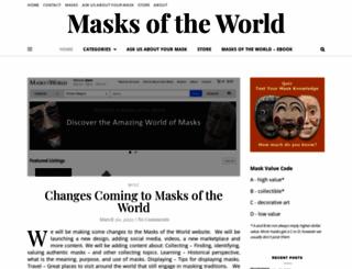 masksoftheworld.com screenshot