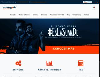 masnegocio.com screenshot