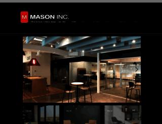 mason-inc.com screenshot