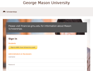 mason.awardspring.com screenshot