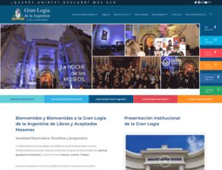 masoneria-argentina.org.ar screenshot