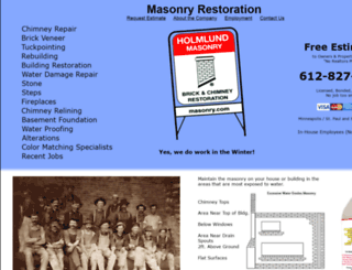masonry.com screenshot