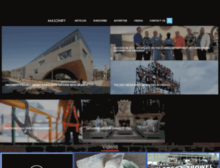 masonrymagazine.com screenshot