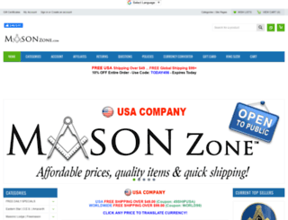Access masonzone com  Mason Zone - Masonic Store Freemason
