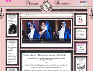 masqueboutique.com screenshot