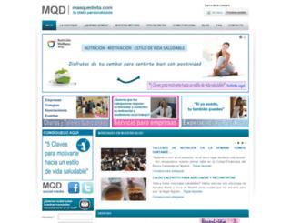 masquedieta.com screenshot