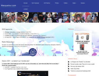 masquelour.com screenshot
