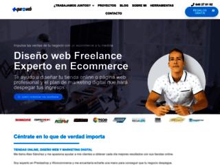 masqueunaweb.com screenshot