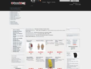 masqueunreloj.com screenshot