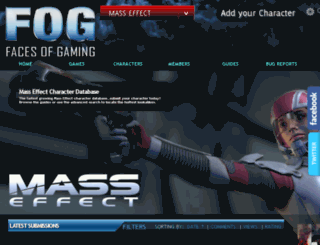 mass-effect.facesofgaming.com screenshot