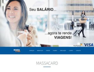 massacard.com.br screenshot