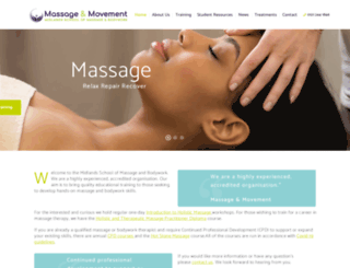 massageandmovement.co.uk screenshot