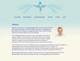 massagepraktijk.info screenshot