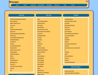 massages.allepaginas.nl screenshot