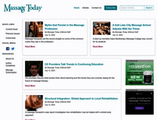 massagetoday.com screenshot