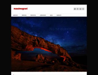 massimograni.com screenshot
